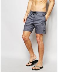 Billabong - Gray Hash It Out Lo Tide 17 Inch Board Shorts - Grey for Men - Lyst