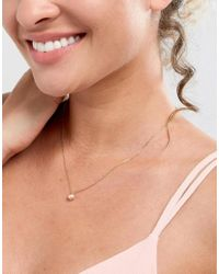 Dogeared - Metallic Gold Filled Pearls Of Love Friendship Happiness Blush Pearl Necklace - Lyst