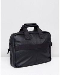 Eastpak - Tomec Laptop Bag In Black Leather for Men - Lyst