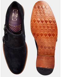 Ted Baker - Black Kartor Monk Shoes for Men - Lyst