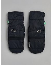 9a1479db88 Lyst - Oakley Snow Roundhouse Ski Mitts Etip 10k Waterproof In Black ...