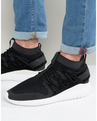 adidas originali tubulare, nova primeknit scarpe in nero s80110 in