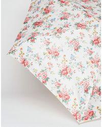 Cath Kidston Multicolor Tiny 2 Spray Flowers Cream Umbrella