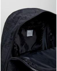 ASOS - Backpack In Washed Black for Men - Lyst