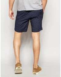 Polo Ralph Lauren - Blue Shorts With Nautical Print - Navy for Men - Lyst