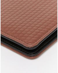 ASOS - Wallet In Brown With Snakeskin Effect for Men - Lyst