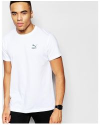 PUMA - White Evolution T-shirt With Back Print for Men - Lyst