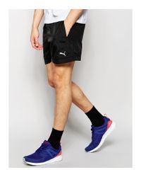 PUMA - Black Woven Shorts for Men - Lyst