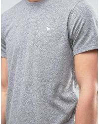 Abercrombie & Fitch - Gray Core T-shirt Muscle Slim Fit In Grey for Men - Lyst