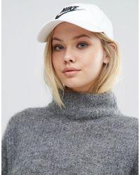 Nike | White Swoosh H86 Cap | Lyst