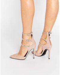 Kylie Vintage S Black Court Shoes