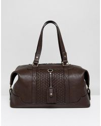 Dune - Mandleson Holdall In Brown for Men - Lyst