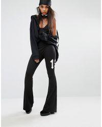 PUMA - Black Fenty X By Rihanna Flared Jumpsuit - Lyst