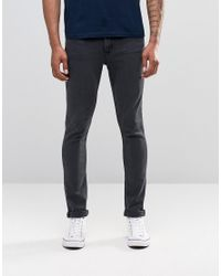 Cheap Monday | Jean Tight Skinny Fit Od Almost Black Wash for Men | Lyst