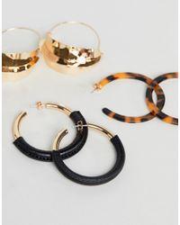 Stradivarius - Multicolor Multi Pack Earrings - Lyst