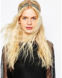 ASOS - Black Disco Vine Headband - Lyst