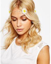 ASOS - Yellow Sunny Daisy Hair Clip - Lyst