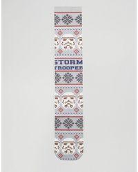 ASOS - Multicolor Christmas Socks With Star Wars Print 2 Pack for Men - Lyst