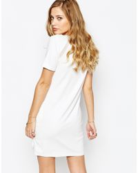 SuperTrash - Metallic Duoma Fringed Mini Dress - Lyst