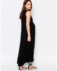 Isabella Oliver - Sleeveless Trapeze Maxi Dress - Black - Lyst