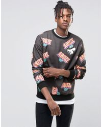Lyst Black Men In For London Sweatshirt Abuze fgy76b