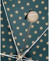 Cath Kidston - Green Minilite 2 Button Spot Forest Umbrella - Lyst