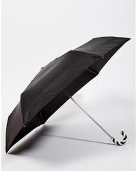 Lulu Guinness - Black Superslim 2 Umbrella - Lyst