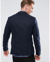 Scotch & Soda - Blue Scotch And Soda Classic Blazer for Men - Lyst