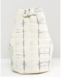 Gracie Roberts - Gray Tie Dye Detail Backpack - Lyst
