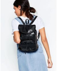 7x - Black Backpack - Lyst