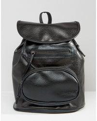 7x - Black Backpack - Lyst