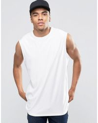 4f811bb5c970e New Look Tank Top In White in White for Men - Lyst