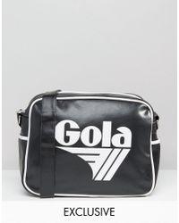 Gola   Classic Redford Messenger Bag In Black & White   Lyst