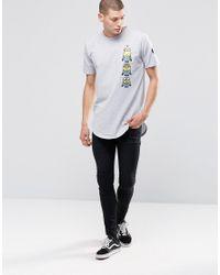 Criminal Damage - Gray Minions Long Line T-shirt - Grey for Men - Lyst