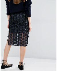 Baum und Pferdgarten - Blue Selene Embellished Skirt - Lyst
