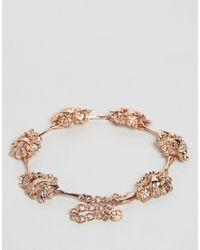 Bill Skinner - Metallic Floral Bracelet - Lyst