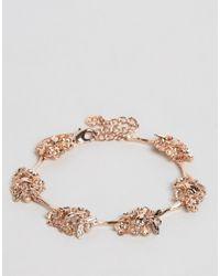 Bill Skinner | Metallic Floral Bracelet | Lyst