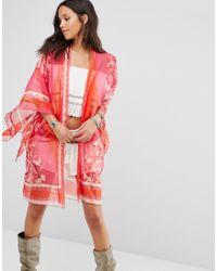 Anna Sui | Red Exclusive Kimono | Lyst