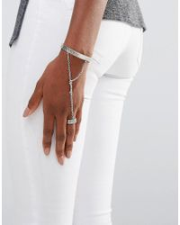 Low Luv by Erin Wasson - Metallic Silver Plated Hand Harness - Lyst