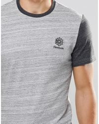 Reebok - Gray Classic Starcreft T-shirt In Grey Ay1172 for Men - Lyst