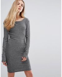 Blend She | Metallic Fever Lurex Bodycon Dress | Lyst