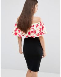 Twin Sister - Multicolor Off Shoulder Frill Top - Lyst