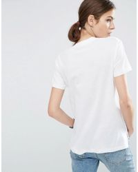 ASOS - Multicolor Linen Mix T-shirt 2 Pack Save 15% - Lyst