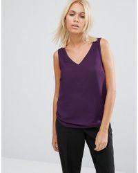 ASOS   Purple V Front & V Back Vest   Lyst