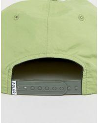 Poler - Green Cap Nylon 6 Panel for Men - Lyst