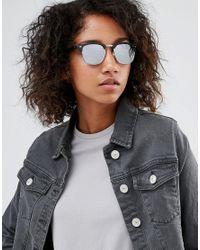 ToyShades - Multicolor Half Frame Sunglasses With Mirror Lens - Lyst