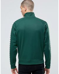 Fred Perry | Green Sports Authentic Track Jacket In Ivy - Ivy for Men | Lyst