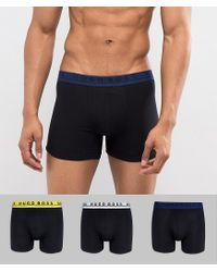 BOSS - Black By Hugo Trunks 3 Pack In Longer Length for Men - Lyst