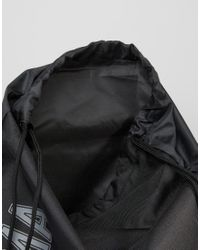 PUMA - Pioneer Drawstring Backpack In Black 7346801 for Men - Lyst