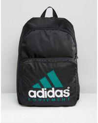 Lyst - Adidas Originals Equipment Bag In Black Az0727 in Black for Men f31bf71dbc0a1
